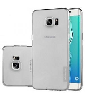 Крышка Samsung G925f (S6 Edge) Силикон Paik Thin (Черная)