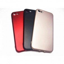 Крышка Apple iPhone 7 Plus Brauffen Бархатная (Красная)