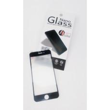 Защитное стекло Apple iPhone 6+ Nano Полный Экран (Черное)