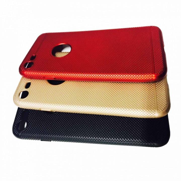 Крышка Apple iPhone 7 Plus Paik с точечками (Черная)