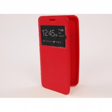 Чехол-книжка Huawei Y5 2017 / Y6 2017 Comk Бок (Красный)