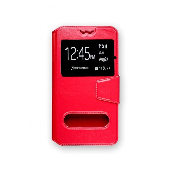 """Универсальный чехол ЭКО Book-Case Slider 3,3-3,8 Красный"""""""