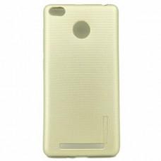 Крышка Xiaomi MI 5X / Mi A1 Motomo Силикон (Золотая)