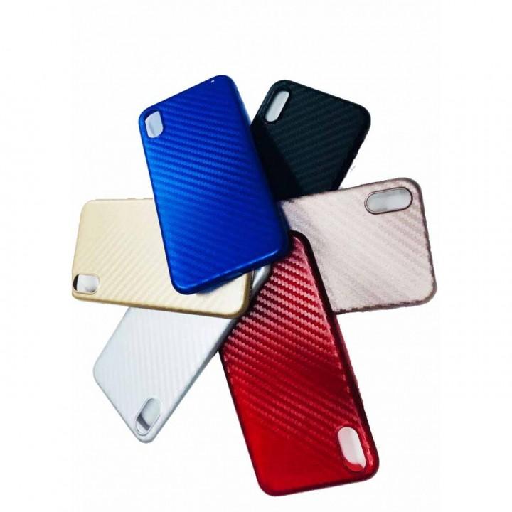 Крышка Apple iPhone 6 Plus Пластиковая Paik Carbon