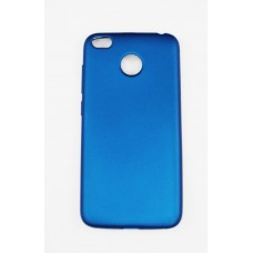 Крышка Xiaomi RedMi 4X Brauffen Бархатная (ГолуБая)