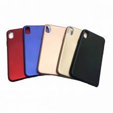 Крышка Apple iPhone X / Xs Brauffen Бархатная (Черная)