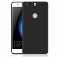 Крышка Huawei Honor 8 Матовый с Блестящими краями (Черный)