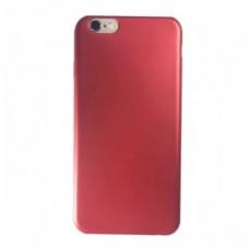 Крышка Samsung J120f (J1-2016) Brauffen Бархатная (Красная)