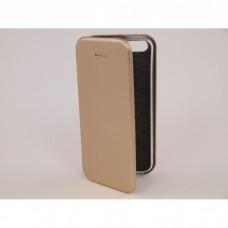 Чехол-книжка Apple IPhone 7 Plus Бок Круглые края (Золотой)