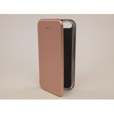 Чехол-книжка Samsung G532f (J2 Prime) Бок Круглые края (Розовое Золото)