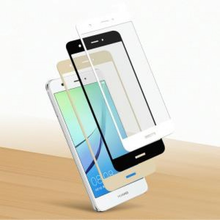Защитное стекло Huawei Nova 2i / Mate 10 Lite Полный экран (Черное)