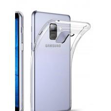 Крышка Samsung A6+ 2018 (A605f) Vespa (Прозрачная)