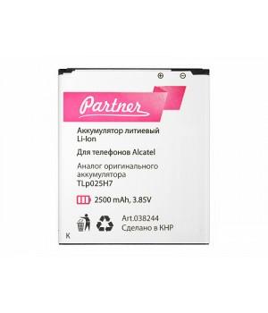 Аккумулятор Alcatel (TLp025H7) Pop 4 5051 (2500mAh) Partner