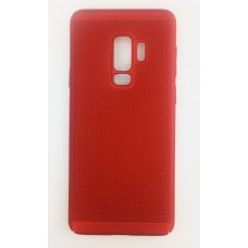Крышка Samsung G965f (S9+) Paik Сеточка (Красная)
