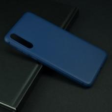 Крышка Huawei P20 Pro Brauffen Бархатная (Синяя)