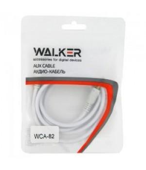 Аудио каБель 1 метр Walker WCA-082 Рифленый