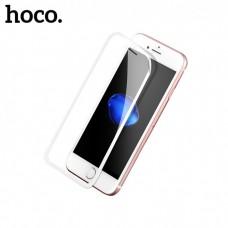 Защитное стекло Apple iPhone 7 Hoco Cool Radian (Белое)