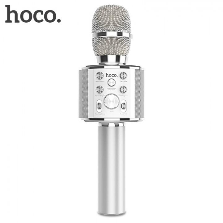 Колонка - микрофон активная Hoco BK3 Cool Sound Ktv Microphone (Bluetooth)
