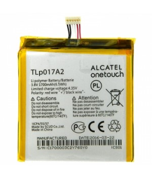 Аккумулятор Alcatel (TLp017A1) 6012D One Touch Idol mini (1700mAh) Original