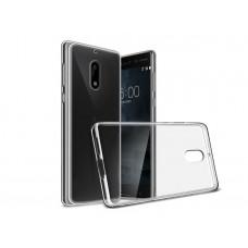 Крышка Nokia 5 Силикон Vrn (Прозрачный)
