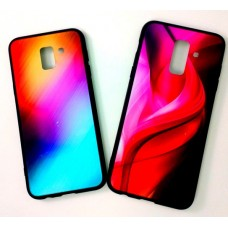 Крышка Samsung A6+ 2018 (A605f) Акварель