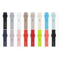 Ремень для умных часов Apple Watch 38mm Silicon