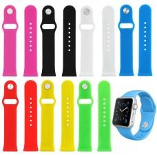 Ремень для умных часов Apple Watch 38mm Paik серия Силикон