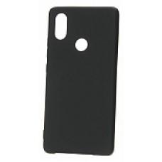Крышка Xiaomi MI 8 SE Just Slim (Черная матовая)