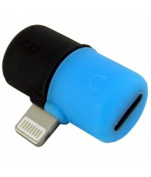 Переходник - адаптер Walker iPhone №01 (2 в 1 ) Двойник наушник + зарядка