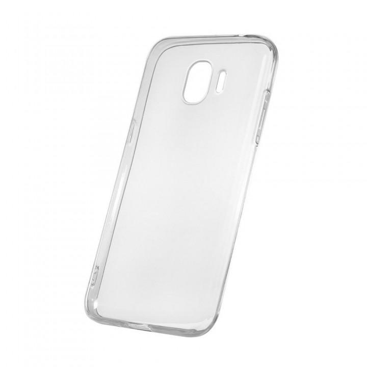 Крышка Samsung Galaxy J4 2018 (J400f) Силикон Paik Thin (Прозрачный)