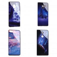 Крышка Apple iPhone X / Xs Глянцевая с рисунком