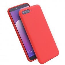 Крышка Huawei Honor 7A / 7S / Y5 Lite 2018 / Y5 Prime 2018 Vespa (Красная)