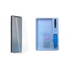 Защитное стекло Samsung G955f (Galaxy S8+) Жидкое стекло с УФ лампой