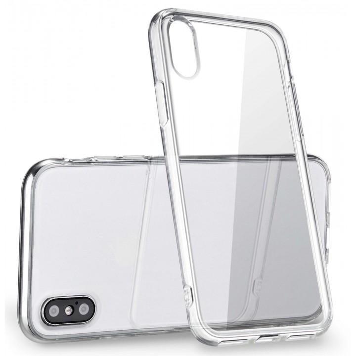 Крышка Apple iPhone Xs Max (6,5) Силикон Paik Thin (Прозрачная)
