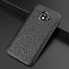 Крышка Samsung Galaxy J2 Pro 2018 (J250) AutoFocus с прострочкой (Черная)
