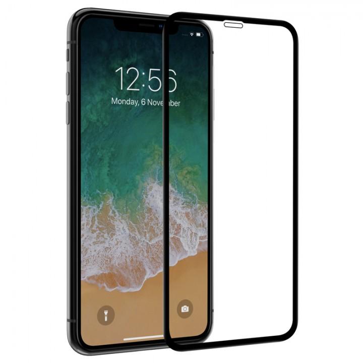 Защитное стекло Apple iPhone Xs Max / 11 Pro Max 3D (Черное)