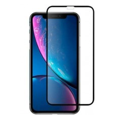 Защитное стекло Apple iPhone Xs Max / 11 Pro Max Hoco Shutterproof Edges Fullscreen HD (Черное)