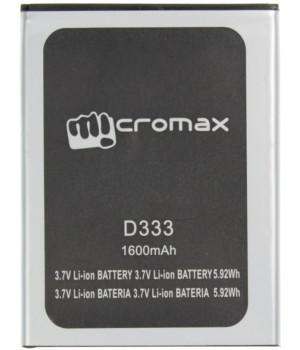Аккумулятор MicroMax D333 (1600mAh) Original