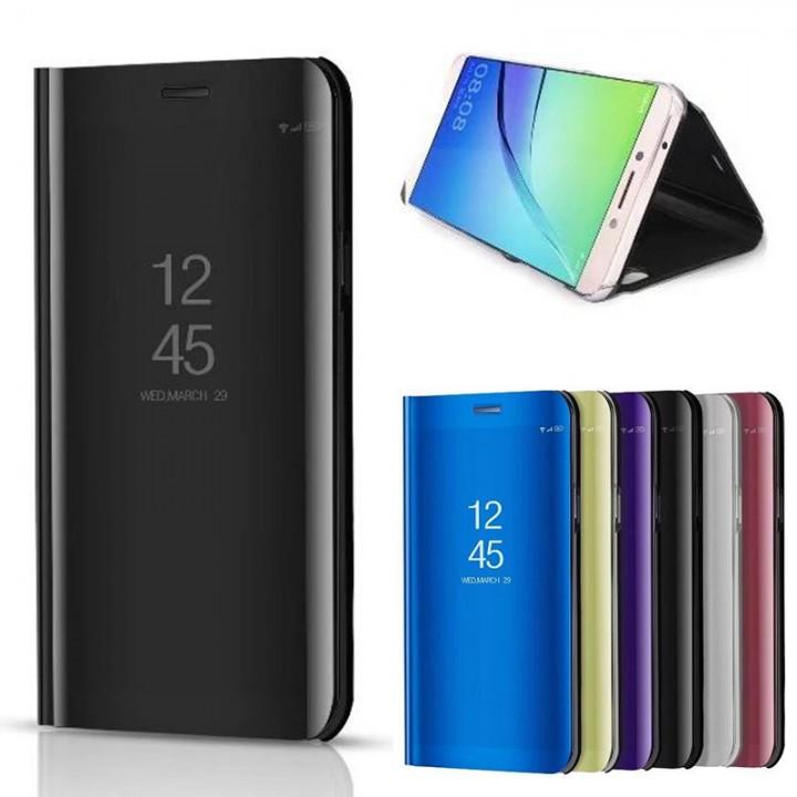 Чехол-книжка Samsung N960 (Note 9) Clear View Зеркальная (Черная)