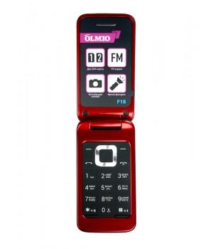 МоБильный телефон Olmio F18 (Красный)