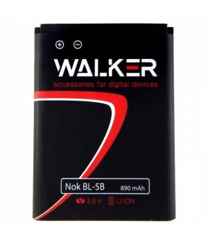 Аккумулятор Nokia BL-5B 3220 , 3230 , 6120c , 5300 (890mAh) Walker