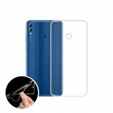 Крышка Huawei Honor 8X Силикон Vrn (Прозрачная)