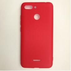 Крышка Xiaomi RedMi 6A Vespa (Красная)