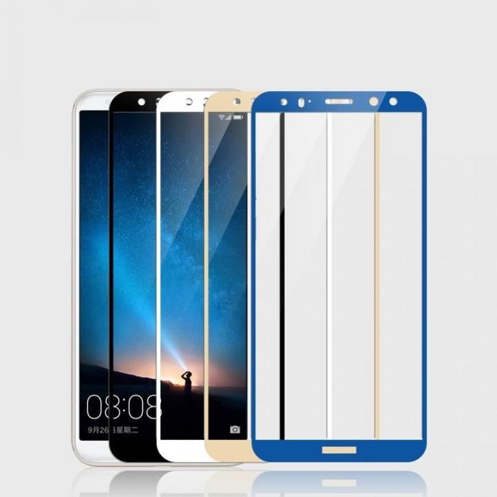 Защитное стекло Huawei Mate 10 Полный экран (Черное)