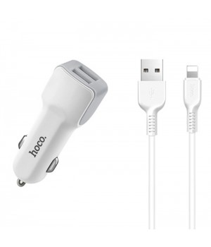 Азу Hoco Apple Lightning 8 pin (2Usb, 2,4A ) Z23 Grand Style