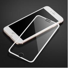 Защитное стекло Apple iPhone 6+ / 7+ / 8+ 9D (Белое)