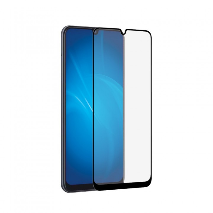 Защитное стекло Samsung A205 (A20) Полный Экран (Черное)
