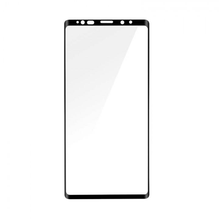 Защитное стекло Samsung Note 9 (N960 / N9600) Изогнутое Полный экран (Черное)