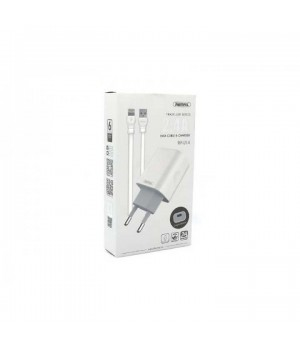 Сетевое Зарядное Устройство Remax Proda Apple Lightning 8 pin RP-U14 (2,4A)
