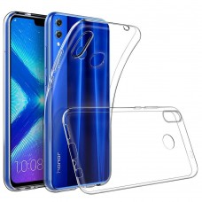 Крышка Huawei Honor 8S / Y5 (2019) Breaking (Прозрачная)